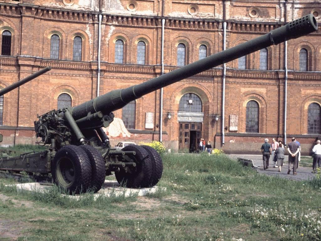 180-мм пушка С-23 СССР | Полевые орудия