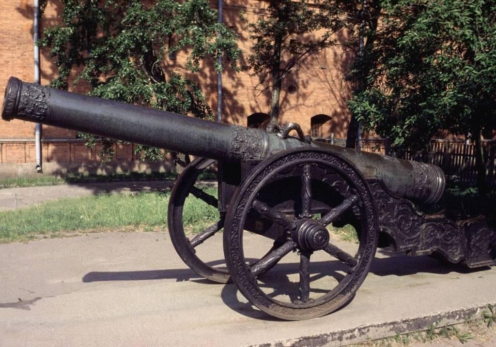 История пушки первые орудия